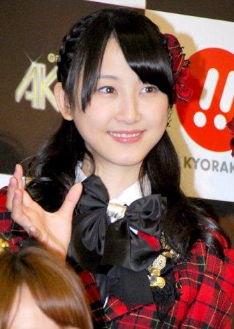 新機種『ぱちんこAKB48』プレス発表会に出席したSKE48の松井玲奈 (C)ORICON DD inc.