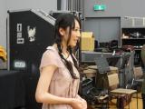 クラシック音楽番組『読響シンフォニックライブ』の新司会者に抜てきされ、オーケストラメンバーの顔合わせをしたAKB48・松井咲子