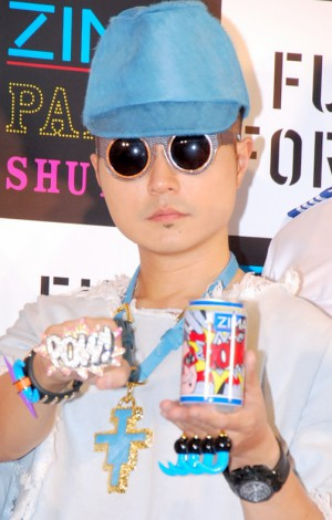『ZIMA PARTY SHUTTLE Launch Premiere』プレス発表会に出席したm-floのVERBAL (C)ORICON DD inc.