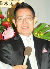 仲本工事と三代純歌の結婚披露宴に出席した加藤茶 (C)ORICON DD inc.