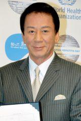 肝炎対策普及啓発事業『知って、肝炎プロジェクト』任命式に出席した杉良太郎 (C)ORICON DD inc.