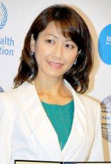 肝炎対策普及啓発事業『知って、肝炎プロジェクト』任命式に出席した高田万由子 (C)ORICON DD inc.
