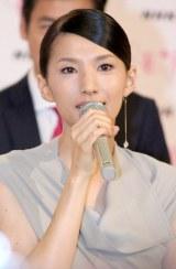 NHK大河ドラマ『八重の桜』新キャスト発表会見に出席した芦名星 (C)ORICON DD inc.