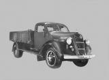 トヨタ、生産台数2億台を達成 (写真は1935年8月に生産した第1号車『G1型トラック』)