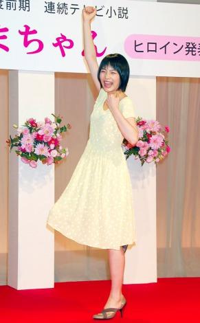 平成25年度前期連続テレビ小説『あまちゃん』のヒロインに起用された能年玲奈 (C)ORICON DD inc.