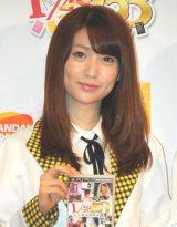 自身の結婚について語ったAKB48大島優子 (C)ORICON DD inc.