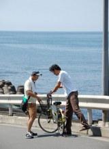 【撮影写真】伊豆大島で撮影に挑んだ映画『つやのよる』 (C)ORICON DD.inc