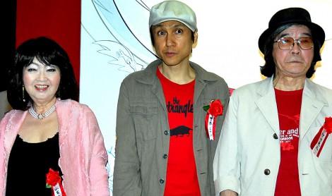 『タツノコプロテン』オープニングセレモニーに出席した(左から)小原乃梨子、甲本ヒロト、肝付兼太 (C)ORICON DD inc.