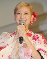 『イトーヨーカドーの恋★浴衣』新CM発表会に出席したAAAの伊藤千晃 (C)ORICON DD inc.