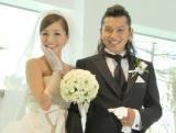 「一周年記念婚」を行った小森純&今井諒夫妻 (C)ORICON DD inc.