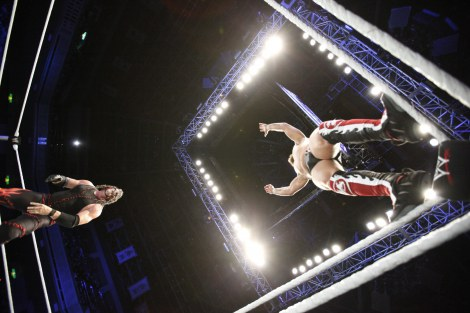 『WWE Presents スマックダウン・ワールドツアー2012』(C)2012 WWE, Inc.  All Rights Reserved.