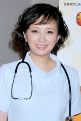 アフレコ収録に臨んだ高橋由美子 (C)ORICON DD inc.