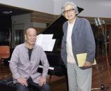 初タッグを組んだ久石譲と山田洋次監督(右)