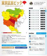 「23区対抗! 東京区民ピック」へのリスナーの投稿は、特設ページにアップされる。