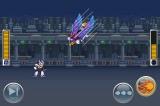 『ロックマン Xover(クロスオーバー)』のゲーム画面イメージ (C) CAPCOM CO., LTD. 2012 ALL RIGHTS RESERVED.