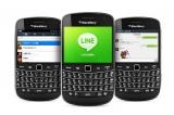 『LINE』のBlackBerry版が公開開始