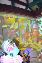 今月24日からオープンする東京ディズニーランドの新アトラクション『グーフィーのペイント&プレイハウス』 (C)ORICON DD inc.