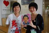 京都精華大学のマンガ学部学生による「似顔絵サービスコーナー」