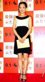 映画『最強のふたり』レッドカーペットイベントに出席した国仲涼子 (C)ORICON DD inc.