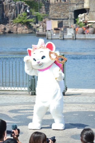 TDSの新カーニバル『ハロウィーン・デイドリーム』にて (C)ORICON DD inc.