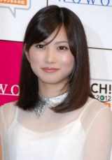 『TOUCH!WOWOW2012 いいね♪3チャンネルの日』記者会見に出席した志田未来 (C)ORICON DD inc.