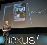 タブレット端末『Nexus 7』日本発売会見に登場したGoogleのエリック・シュミット会長 (C)ORICON DD inc.