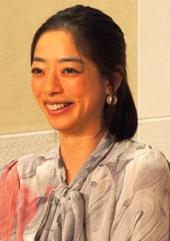 TBS系新番組『原宿ネストカフェ』の会見に出席した市川実和子 (C)ORICON DD inc.
