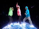 11月28日にデビューする「地球三兄弟」(左から:スパ de SKY=YO-KING、THE EARTH=桜井秀俊、Oしゃん=奥田民生)