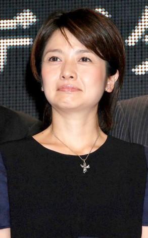 「デジタルアナウンサー」杏梨ルネの入社式に出席した西山喜久恵 (C)ORICON DD inc.