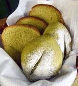 米粉の生地にユーグレナを練り込んで焼き上げた和良 自由が丘の「ユーグレナ食パン」(半斤380円)(C)ORICON DD inc.