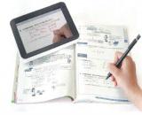 『進研ゼミ』中一講座では、紙のテキストと連動したタブレットPCの活用が可能に。