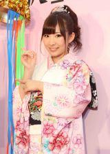 来年1月にソロ第2弾シングル発売が決まり感激する岩佐美咲