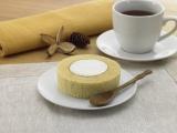 ローソンが23日より発売を開始した『プレミアムブランのロールケーキ(小麦ふすま使用)』(税込140円)