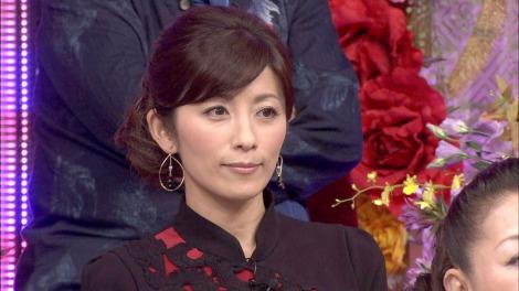 まとめ髪が美しい中田有紀