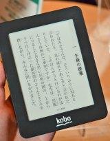 手のひらに収まるサイズの『kobo mini』(価格は6980円) (C)ORICON DD inc.