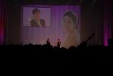 女性ファッション誌の『MORE HAPPY FES. 2012』にトークゲストとして登場した蒼井優(右) (C)ORICON DD inc.