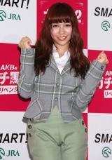 ソロCDデビュー決定に意気込むAKB48の河西智美 (C)ORICON DD inc.