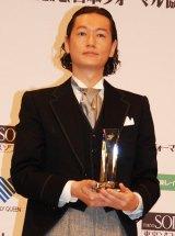 『ベストフォーマリスト2012』男性部門を受賞した井浦新 (C)ORICON DD inc.