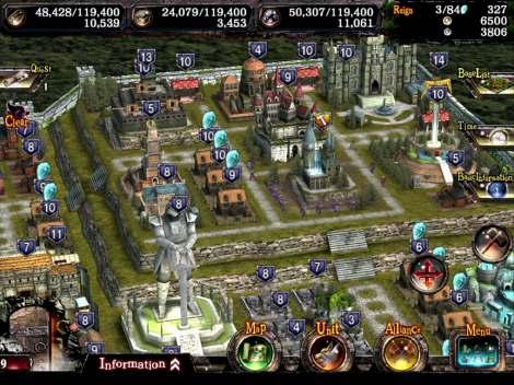 アクションRPG『Kingdom Conquest II』プレイ画面イメージ(C)SEGA /(C) SEGA Networks