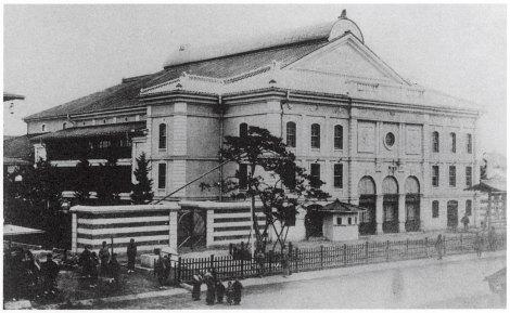 第一期歌舞伎座外観(提供:松竹株式会社)