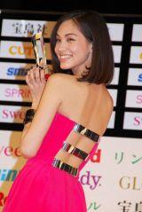 『宝島社 日本ファッションリーダーアワード 2012』授賞式に参加した水原希子 (C)ORICON DD inc.