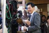 『孤独のグルメSeason2』クランクアップに安堵の表情の松重豊(C)テレビ東京