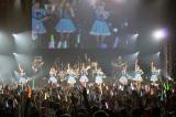 グループ名を「PASSPO☆」に変更することを発表したぱすぽ☆