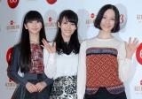 『第63回NHK紅白歌合戦』のリハーサルに臨んだPerfume(左からかしゆか、あ〜ちゃん、のっち) (C)ORICON DD inc.