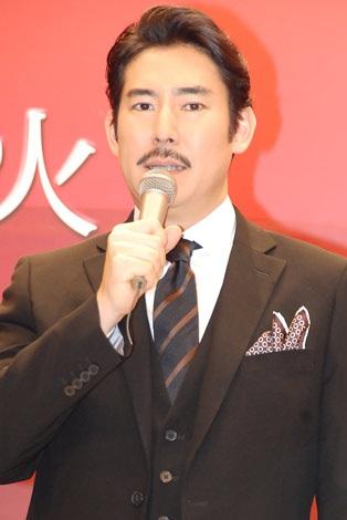関西テレビ・フジテレビ系連続ドラマ『サキ』の制作発表会に出席した高嶋政伸 (C)ORICON DD inc.