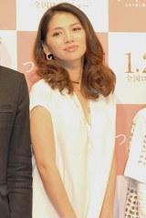 映画『つやのよる ある愛に関わった、女たちの物語』の完成会見に出席した野波麻帆 (C)ORICON DD inc.