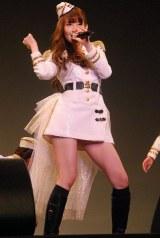 ノースリーブス9thシングル発売イベントを行った小嶋陽菜 (C)ORICON DD inc.