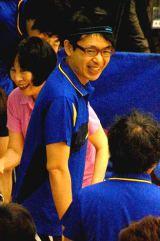 らくご卓球クラブ『2013年新春初打ち会』で汗を流した福澤朗 (C)ORICON DD inc.