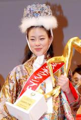 『第45回2013年度ミス日本グランプリ決定コンテスト』でグランプリを受賞した鈴木恵梨佳さん (C)ORICON DD inc.