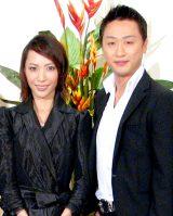 結婚を発表した貴城けいと市川月乃助(※写真は2007年7月に行われた舞台の制作記者会見時のもの) (C)ORICON DD inc.